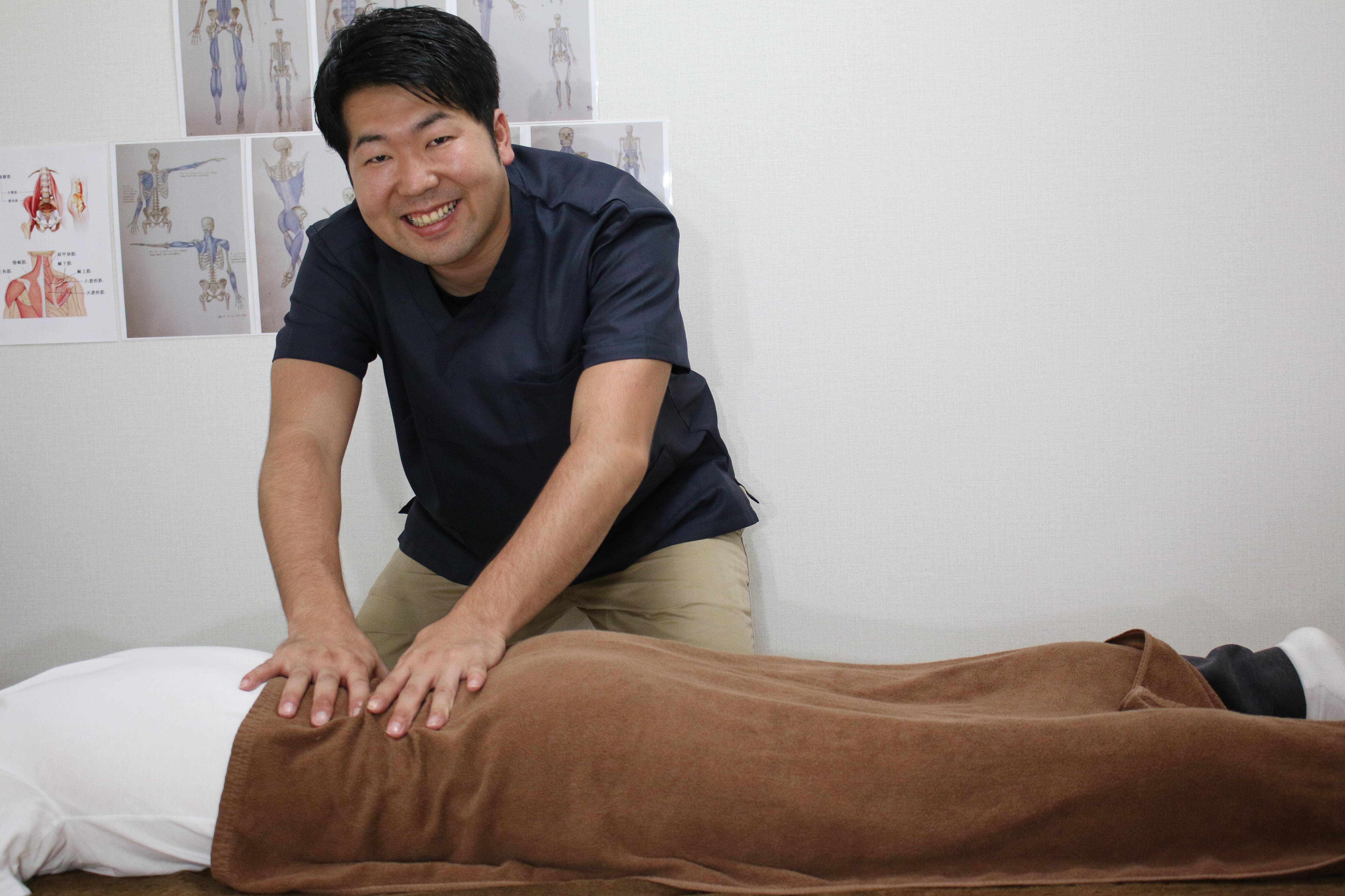 柔道整復師:古澤先生