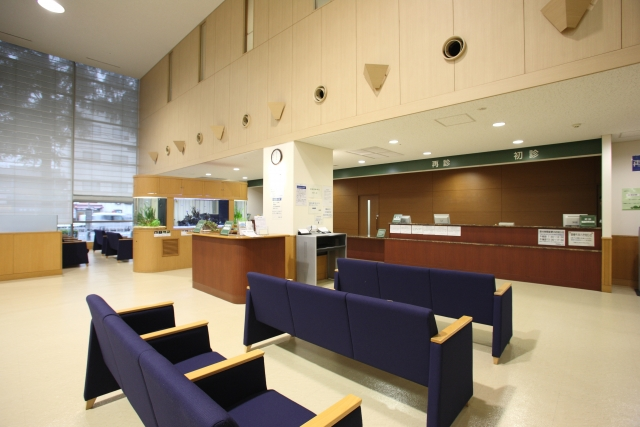 病院の院内風景