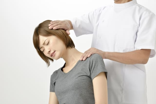 胸郭出口症候群の写真-